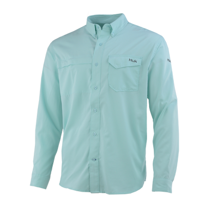 Huk Tide Point Solid Long Sleeve