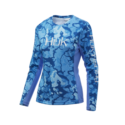 Huk Womens Current Camo Icon X