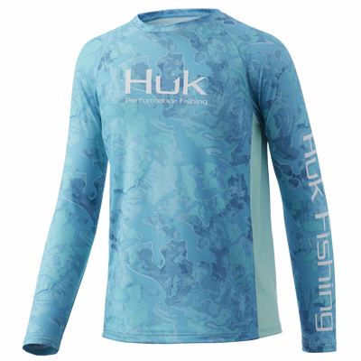Huk Youth Camo Pursuit Long Sleeve