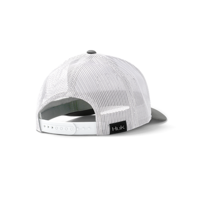 Huk Youth Angler Trucker Solid Hat