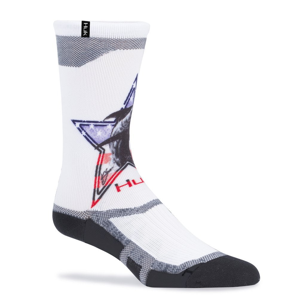 Huk KC Scott American Marlin Icon Crew Sock