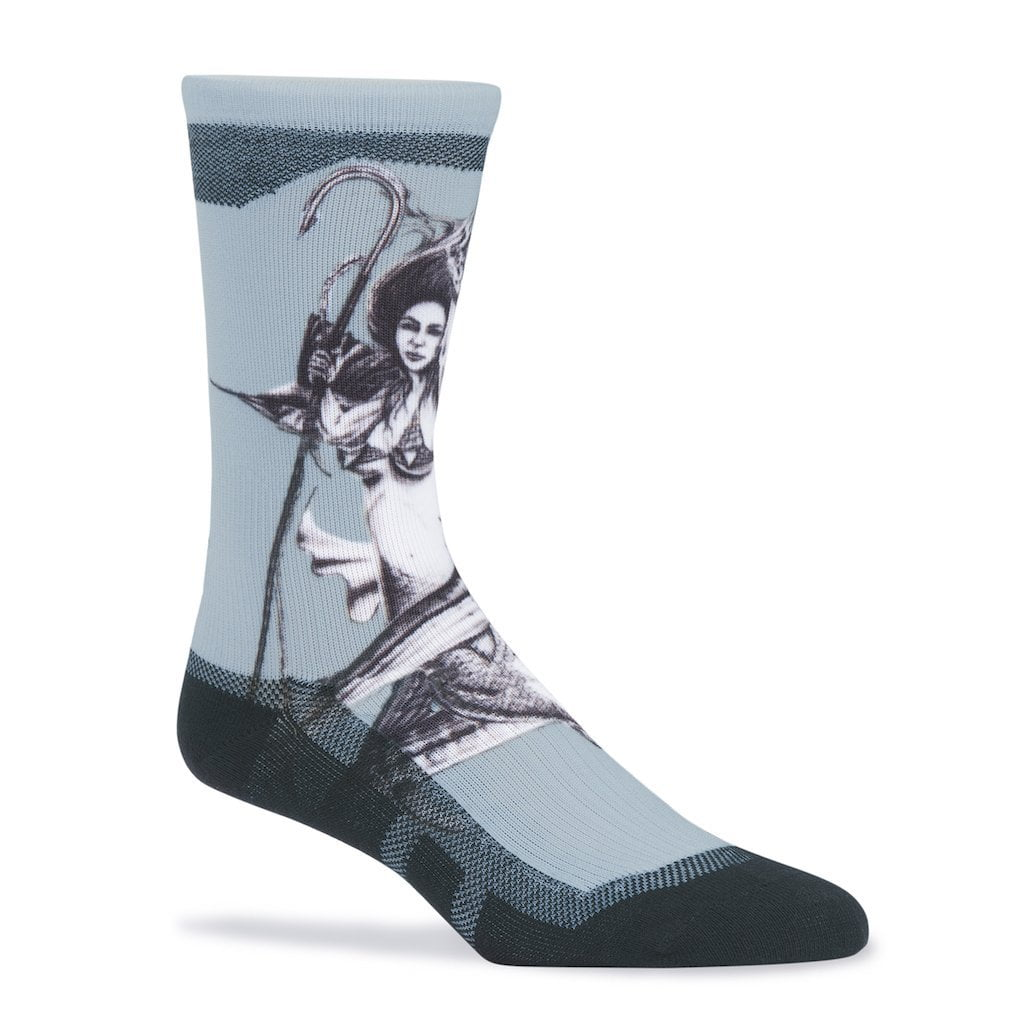 Huk KC Scott Mother Ocean Slate Crew Sock