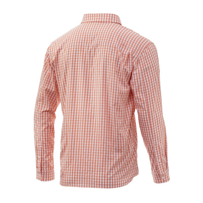 Huk Gingham Woven Long Sleeve