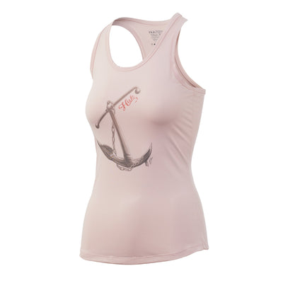 Huk Womens Aweigh To Paradise Pursuit Tank