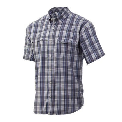 Huk Tide Point Plaid Short Sleeve