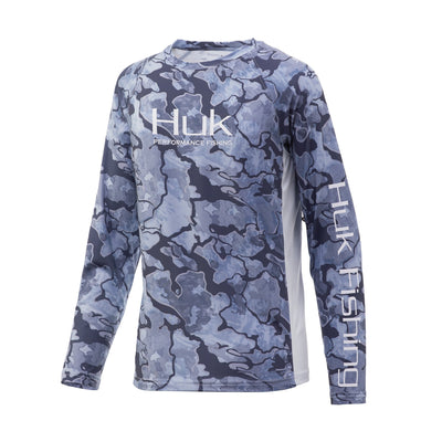 Huk Youth  Pursuit Camo Vented