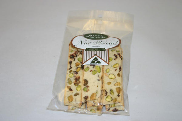 Mamma Marilena Pistacchio And Cranberry Nut Bread 100gm