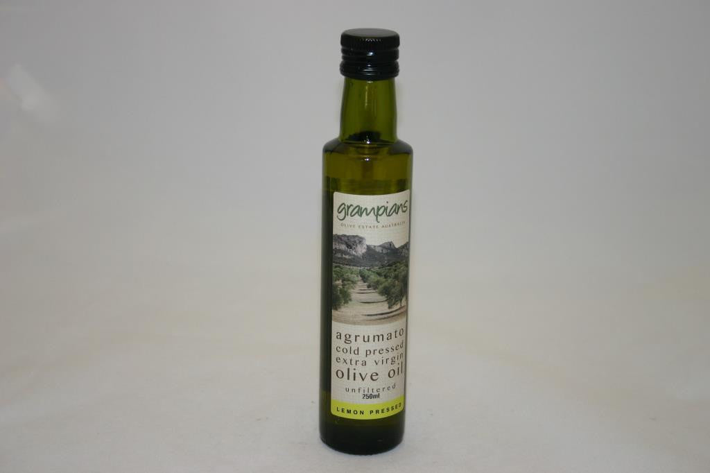 Grampians Lemon Pressed Extra Virgin Olive Oil 250ml