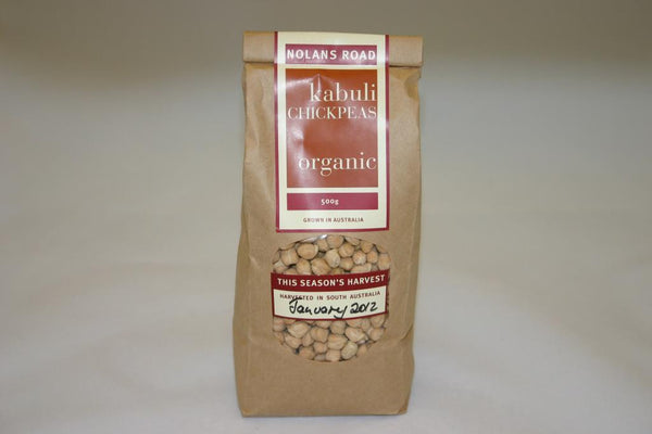 Nolans Road Kabuli Chickpeas 500gm