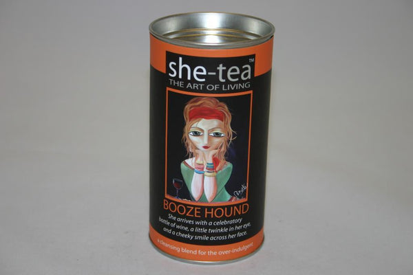 She Tea Booze Hound Loose Leaf 50gm