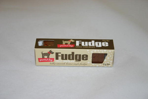 Spotted Dog Fudge Chilli Chocolate 95gm