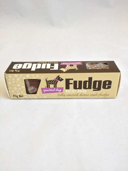 Spotted Dog Fudge Rocky Road 95gm