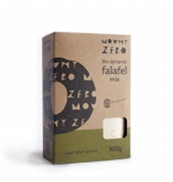 Mount Zero Biodynamic Falafel Mix 500gm