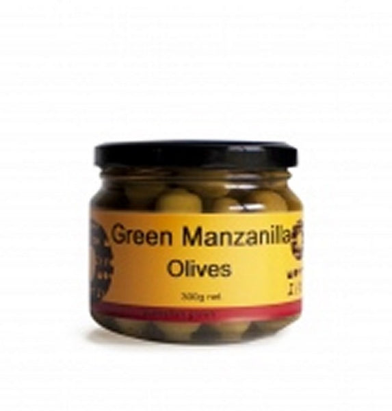 Mount Zero Manzanilla Olives 300gm