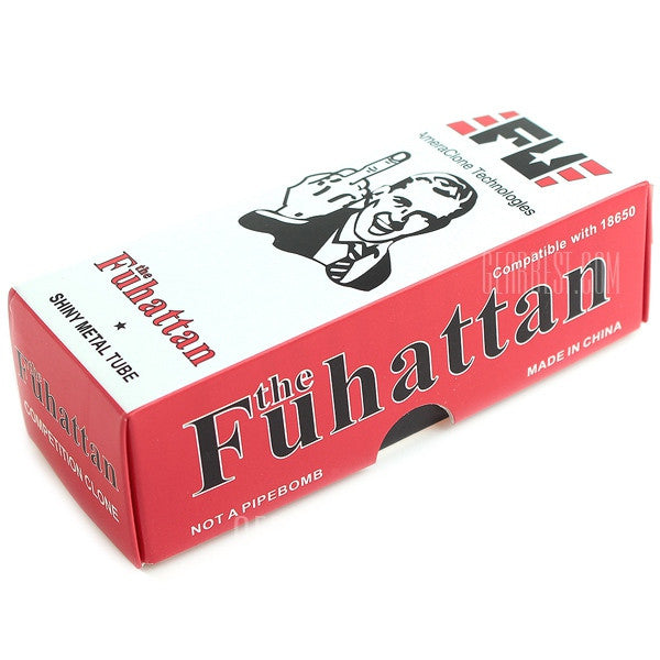 Carbon Fiber FUHattan Style Mechanical Mod