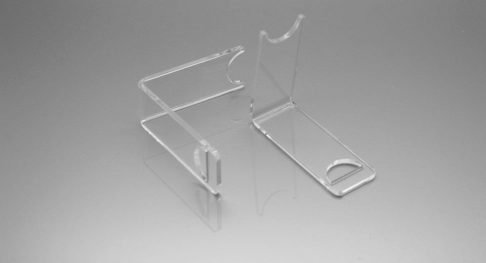 Acrylic 1-Seat Display Stand for E-Cigarettes