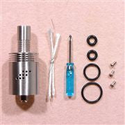 Mutation X Styled Rebuildable Dripping Atomizer - Silver