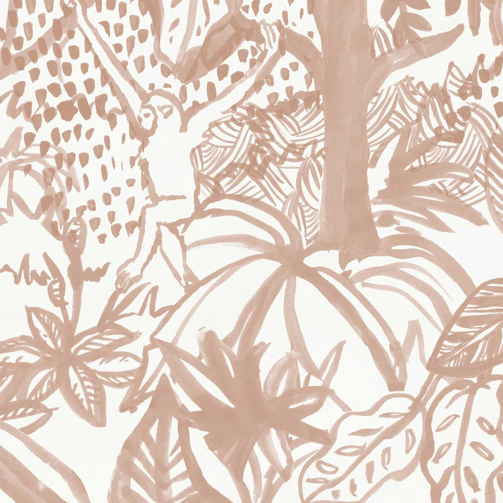 Jungle Wallpaper. Blush