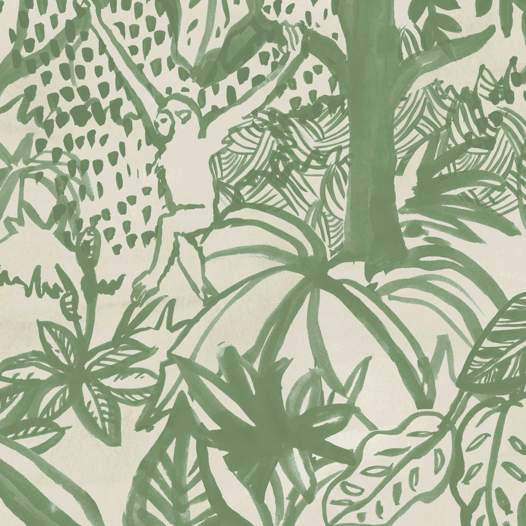 Jungle Wallpaper. Green