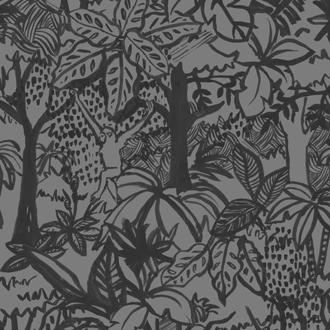 Jungle Wallpaper. Night