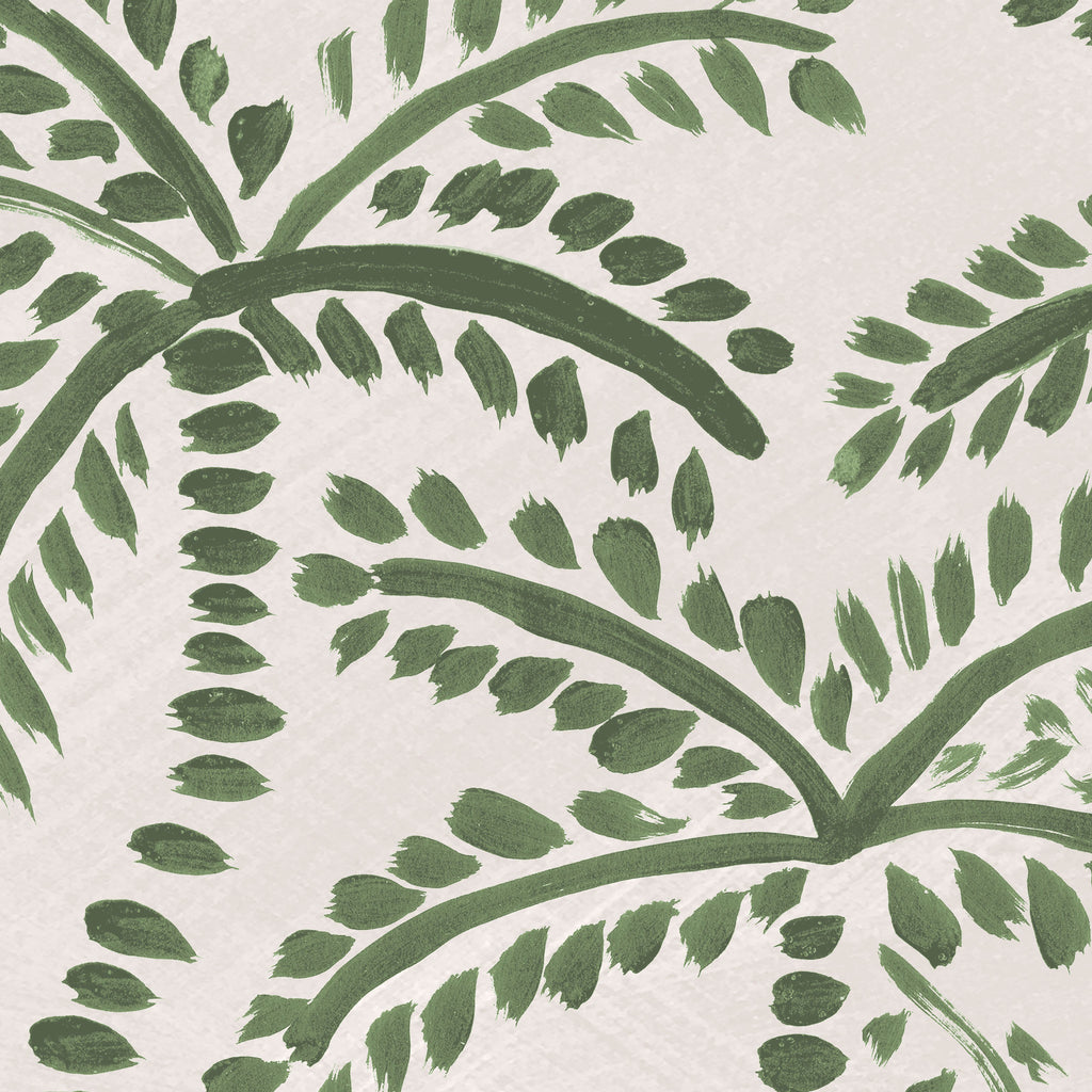 Palmy Wallpaper. Lush Green