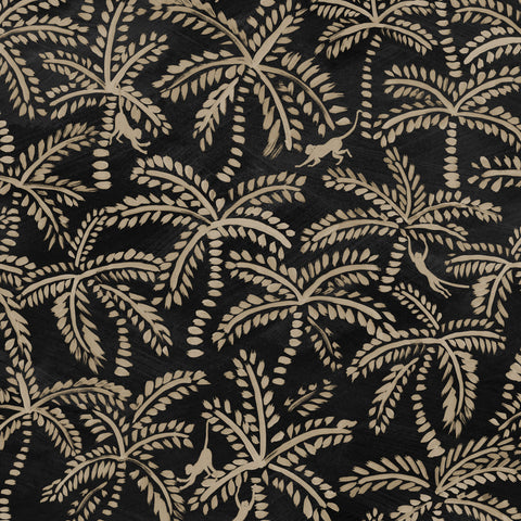 Palmy Wallpaper. On Squid Ink