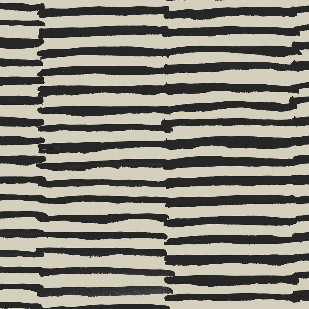 Stripes Anon Wallpaper. Black