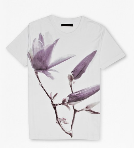 French Connection PETAL JERSEY T-SHIRT- Men