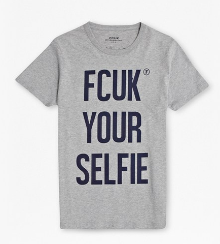 French Connection FCUK YOUR SELFIE T-SHIRT -Men