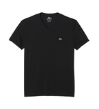 Lacoste Jersey V-Neck T-Shirt Black