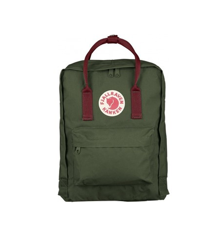 FJALLRAVEN KÅNKEN COLOR: FOREST GREEN-OX RED F23510