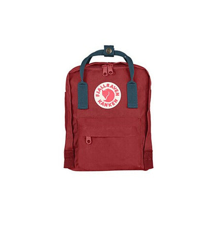 Fjallraven Kanken Mini Ox Red- Royal Blue Style F23561