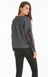 OBEY LORI CREWNECK SWEATSHIRT SPECIALTY FLEECE
