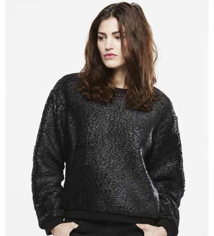 ELEVEN PARIS PADORE Black Sweater