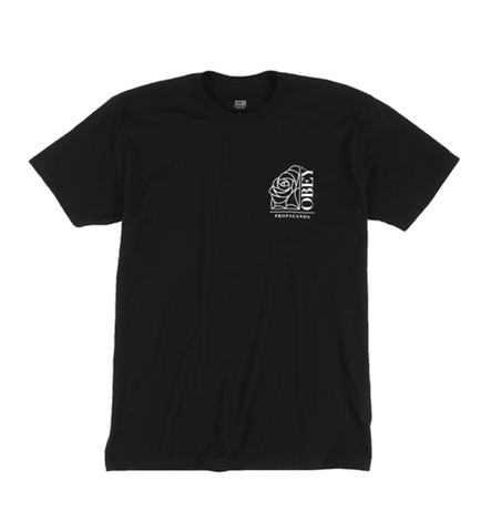 Obey Rose Noir T-Shirt Black