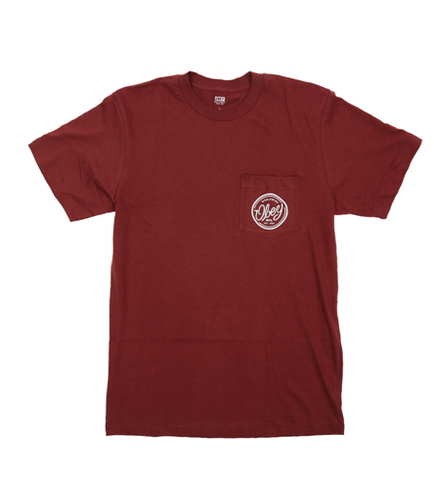 Obey Union MFG T-Shirt Burgundy
