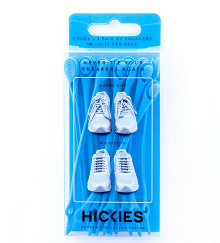 HICKIES Cyan Shoelaces