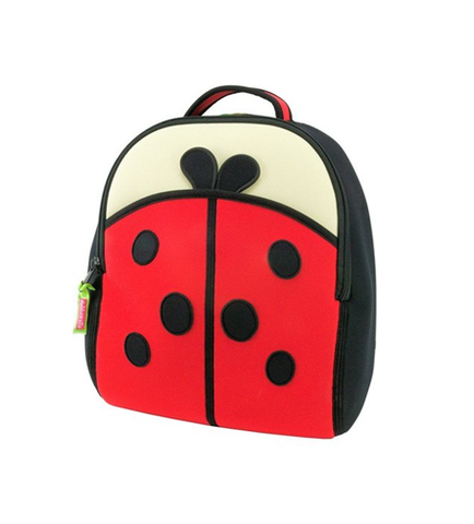 DABBAWALLA BACKPACK Cute as a Bug Ladybug