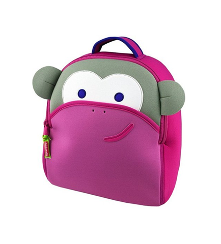 DABBAWALLA BACKPACK Blushing Pink Monkey