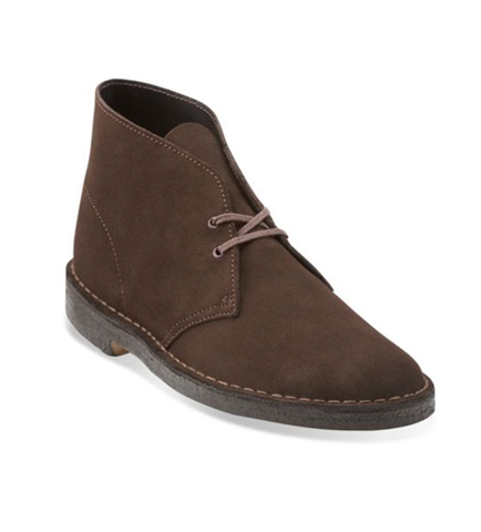 Clarks Desert Boot Brown Suede 26107879