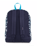 JANSPORT SUPERBREAK NAVY MOONSHINE ISLAND OMBRE