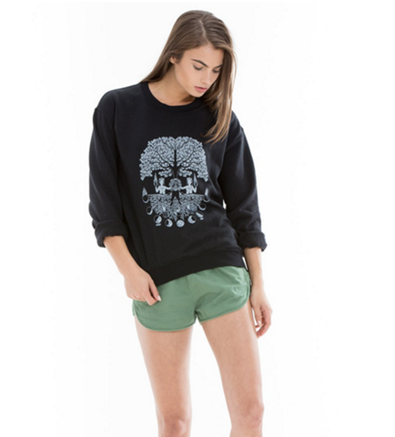 Obey ROOTS Black Sweatshirt
