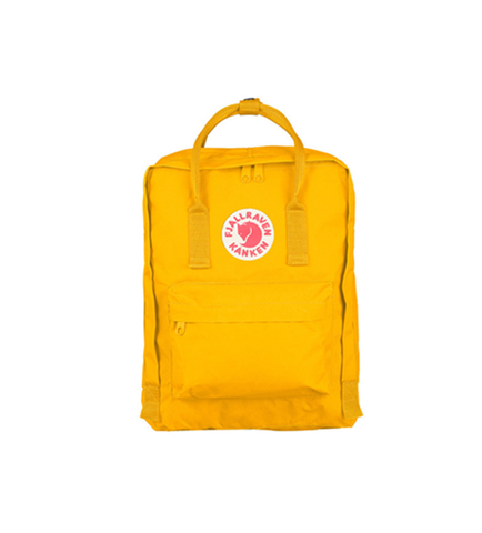 Fjallraven Kånken Color: Warm Yellow 23510