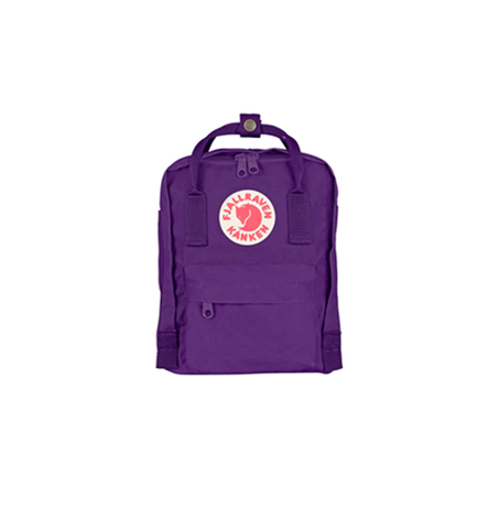 FJALLRAVEN KANKEN MINI PURPLE BACKPACK STYLE F23561