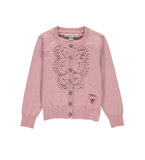 Angels Face Vintage Rose Bib Lace Cardi