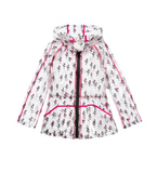 KENZO KIDS Unisex Allover Printed Raincoat Multicolor