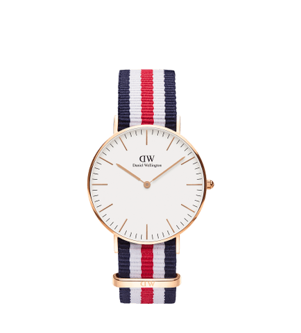 DANIEL WELLINGTON CANTERBURY Gold 36MM