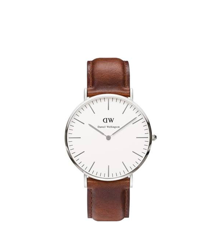 DANIEL WELLINGTON ST MAWES SILVER 36MM