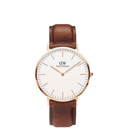 DANIEL WELLINGTON CLASSIC ST MAWES Gold 40MM
