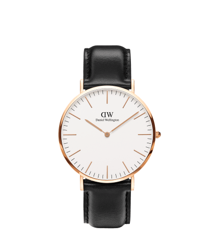 DANIEL WELLINGTON Classic Sheffield Rose Gold 40 mm